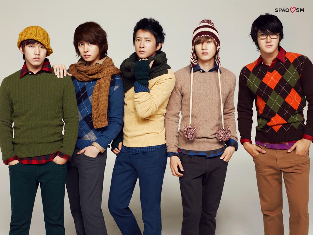 PIC] Super Junior On Spao Desktop Wallpapers